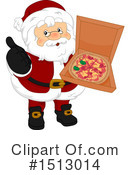 Santa Clipart #1513014 by BNP Design Studio