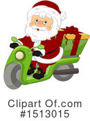 Santa Clipart #1513015 by BNP Design Studio