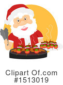 Santa Clipart #1513019 by BNP Design Studio