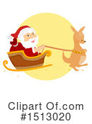 Santa Clipart #1513020 by BNP Design Studio