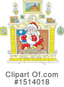 Royalty-Free (RF) Santa Clipart Illustration #1514018