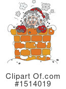 Royalty-Free (RF) Santa Clipart Illustration #1514019
