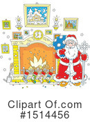 Santa Clipart #1514456 by Alex Bannykh