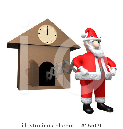 Clock Clipart #15509 by 3poD