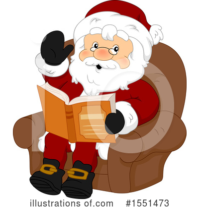 Royalty-Free (RF) Santa Clipart Illustration by BNP Design Studio - Stock Sample #1551473