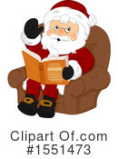 Santa Clipart #1551473 by BNP Design Studio