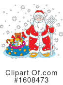Santa Clipart #1608473 by Alex Bannykh