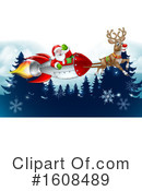 Santa Clipart #1608489 by AtStockIllustration