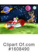 Santa Clipart #1608490 by AtStockIllustration