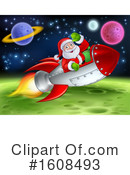 Santa Clipart #1608493 by AtStockIllustration