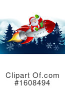 Santa Clipart #1608494 by AtStockIllustration