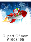 Santa Clipart #1608495 by AtStockIllustration