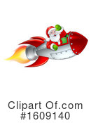 Santa Clipart #1609140 by AtStockIllustration
