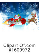 Santa Clipart #1609972 by AtStockIllustration