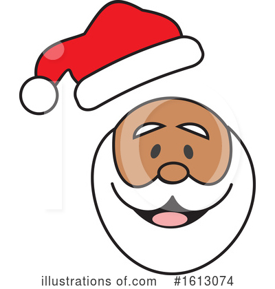 Santa Clipart #1613074 by Johnny Sajem