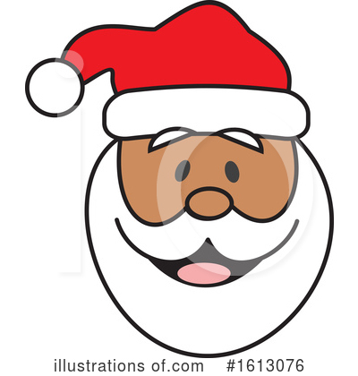 Royalty-Free (RF) Santa Clipart Illustration by Johnny Sajem - Stock Sample #1613076
