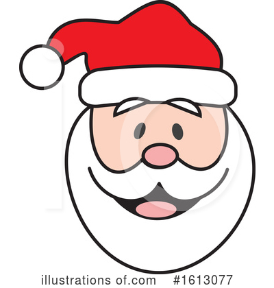 Santa Clipart #1613077 by Johnny Sajem