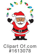 Santa Clipart #1613078 by Johnny Sajem