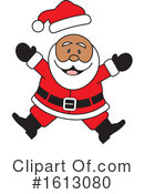 Santa Clipart #1613080 by Johnny Sajem