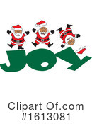 Santa Clipart #1613081 by Johnny Sajem