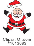 Santa Clipart #1613083 by Johnny Sajem