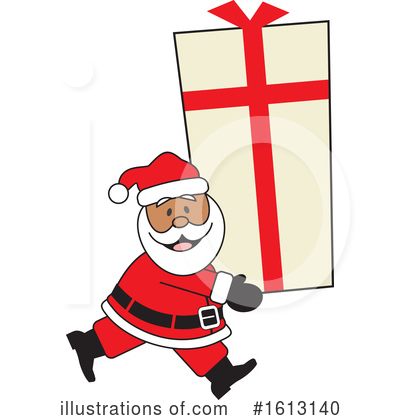 Santa Clipart #1613140 by Johnny Sajem