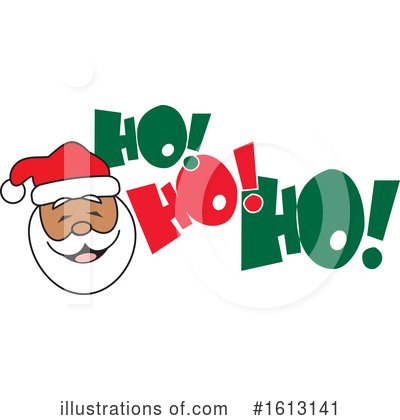 Santa Clipart #1613141 by Johnny Sajem