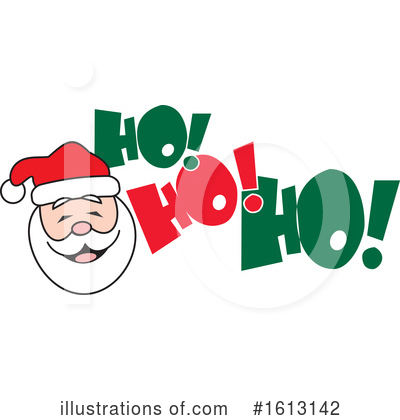 Santa Clipart #1613142 by Johnny Sajem