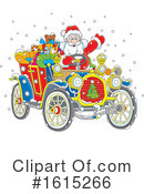 Santa Clipart #1615266 by Alex Bannykh