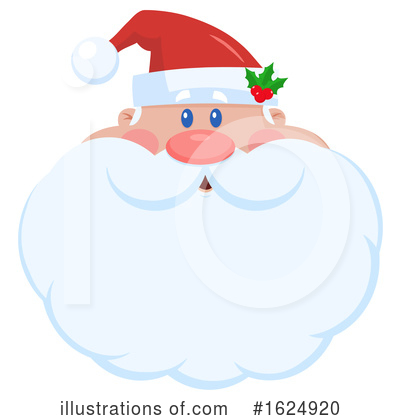 Royalty-Free (RF) Santa Clipart Illustration by Hit Toon - Stock Sample #1624920