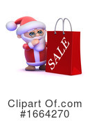 Santa Clipart #1664270 by Steve Young