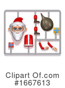 Santa Clipart #1667613 by Steve Young