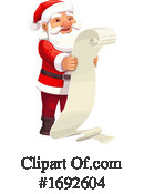 Santa Clipart #1692604 by Vector Tradition SM