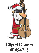 Santa Clipart #1694718 by toonaday