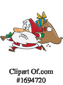 Santa Clipart #1694720 by toonaday