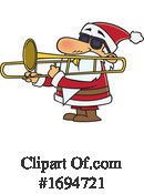 Santa Clipart #1694721 by toonaday