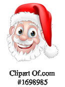 Santa Clipart #1698985 by AtStockIllustration