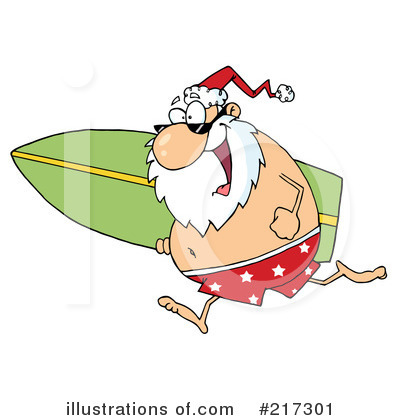 Santa Clipart #217301 by Hit Toon