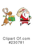 Santa Clipart #230781 by Hit Toon