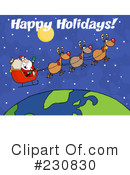 Santa Clipart #230830 by Hit Toon