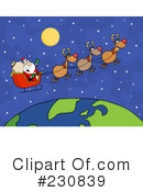 Santa Clipart #230839 by Hit Toon