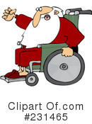 Royalty-Free (RF) Santa Clipart Illustration #231465