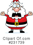 Royalty-Free (RF) Santa Clipart Illustration #231739