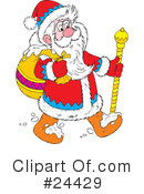 Santa Clipart #24429 by Alex Bannykh