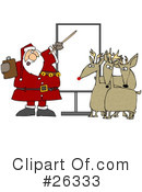Royalty-Free (RF) Santa Clipart Illustration #26333