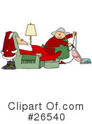 Royalty-Free (RF) santa Clipart Illustration #26540