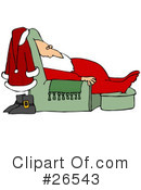 Royalty-Free (RF) santa Clipart Illustration #26543
