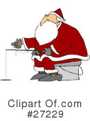 Royalty-Free (RF) Santa Clipart Illustration #27229