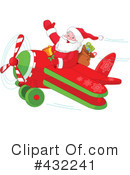 Royalty-Free (RF) Santa Clipart Illustration #432241