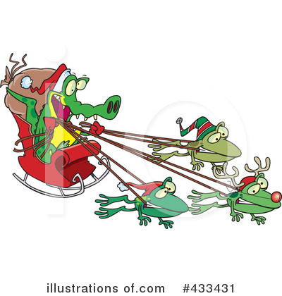 Frog Clipart #433431 by toonaday